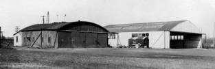 College Park's hangars and administration building, again probably taken 1933-4.