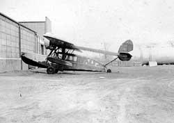 The Stinson Duck, their amphibious plane.