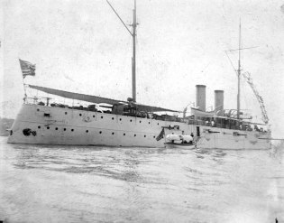 USS Cincinnati, New York, NY, June 1896.