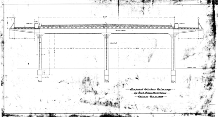 He designed things too: a proposed offshore driveway, dated 11 January 1899.